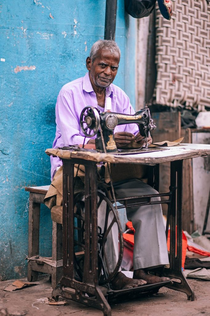 Couture en Inde