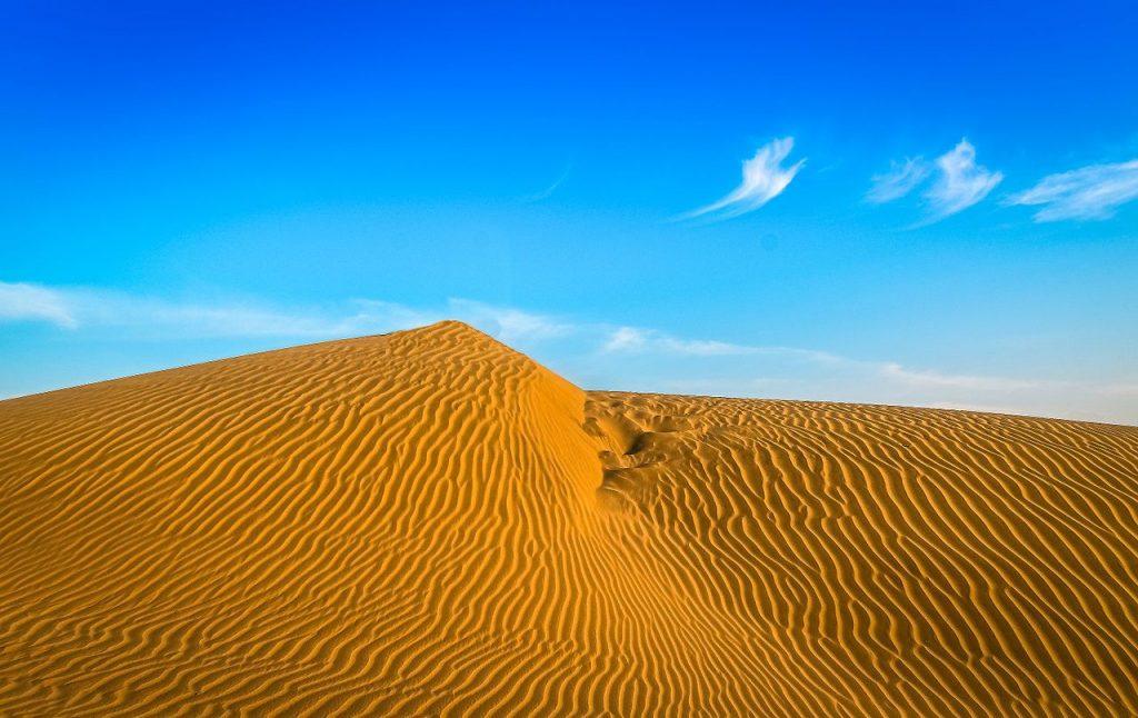 Le désert du Thar en Inde