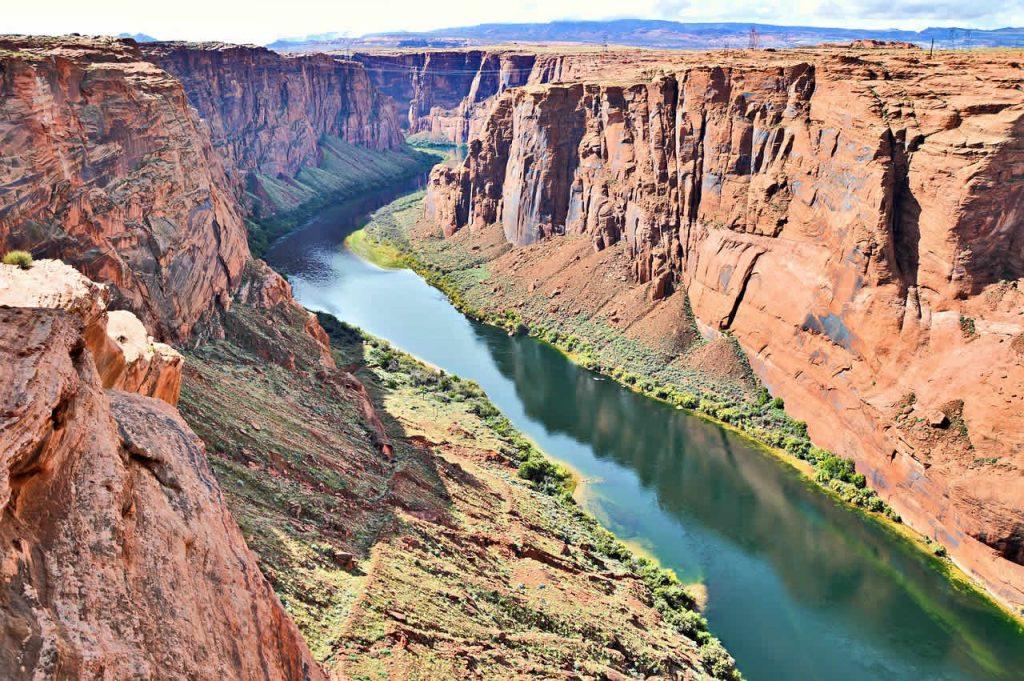 Le fleuve Colorado aux États-Unis