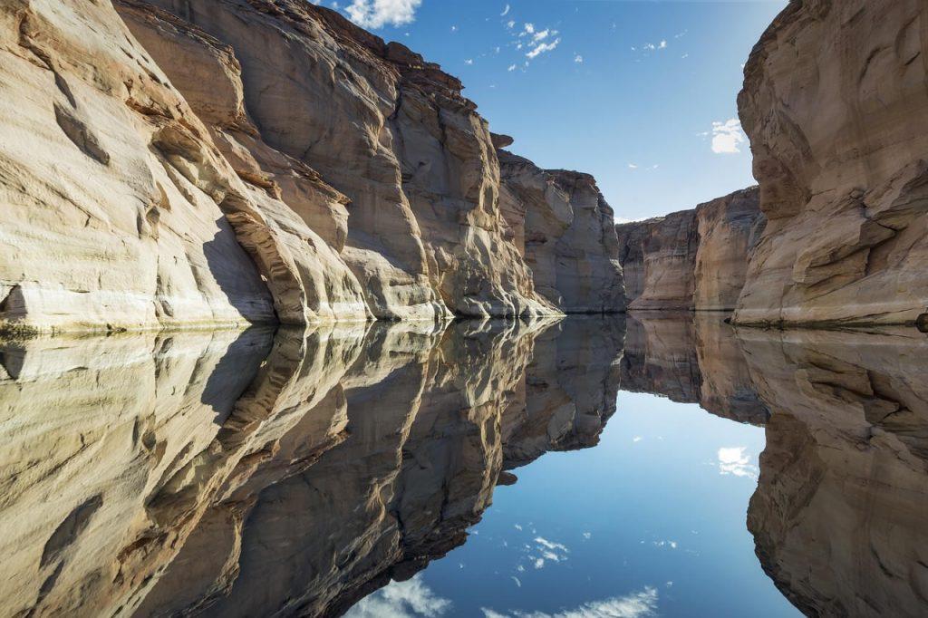 Le lac Powell aux États-Unis