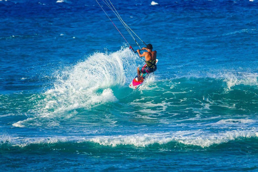 Planche à Voile, sport nautique à l'île Maurice