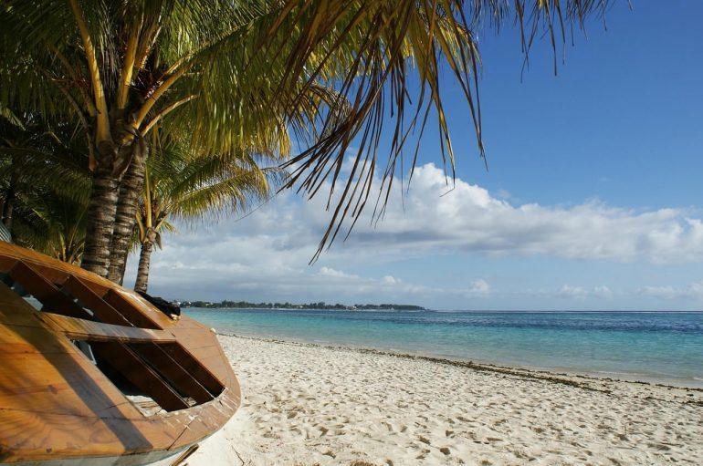 Plage sur l'Île Maurice