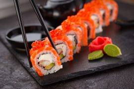 Sushi Sapporo Japon